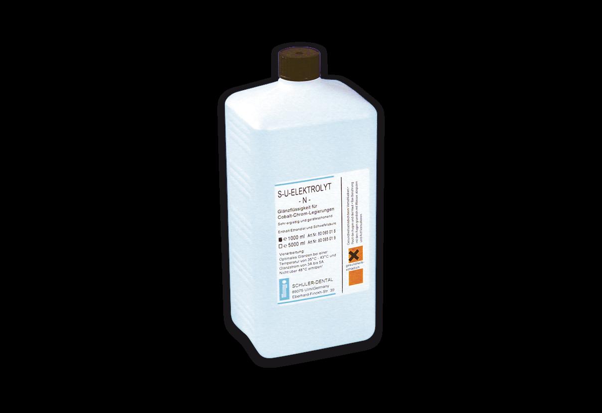S-U-ELEKTROLYT-N Glänzflüssigkeit für Co-Cr.