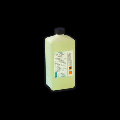 S-U-ELEKTROLYT-SUPER Glänzflüssigkeit für Co-Cr.