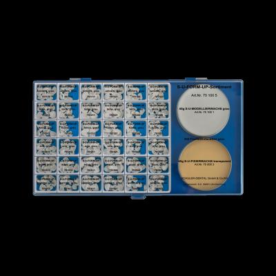S-U-FORM-UP grau, komplettes Sortiment – für wax-ups