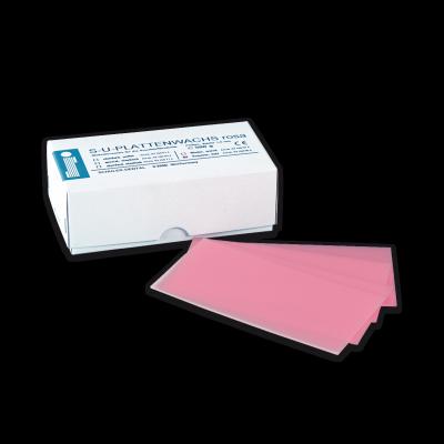 S-U-PLATTENWACHS rosa, Sommer hart, 150 x 75 x 1,5 mm