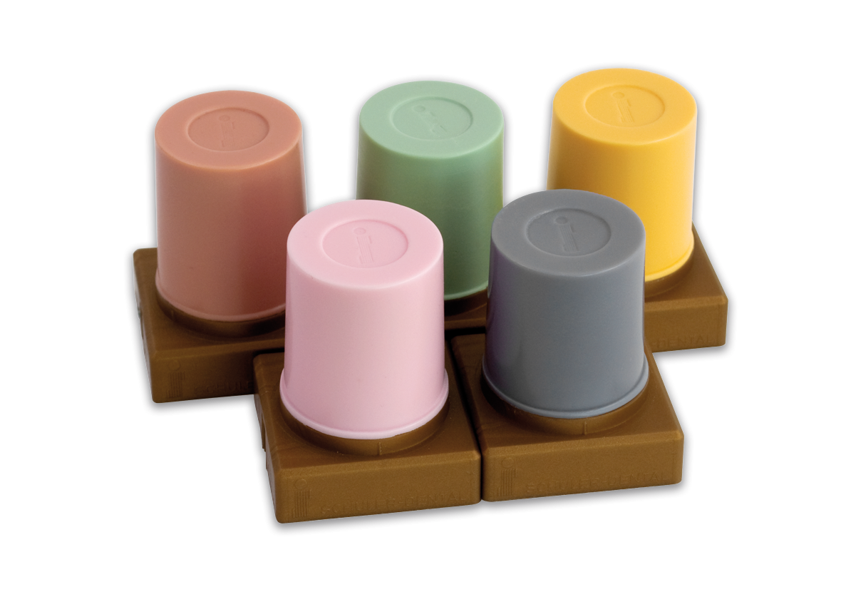 S-U-CHAMÄLEO-WAX in common plaster shades