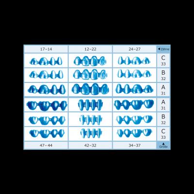 rp skabets BL-c, Blocks circular