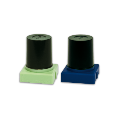 S-U-INLAY-WAXES, dark green. Summer and winter wax.